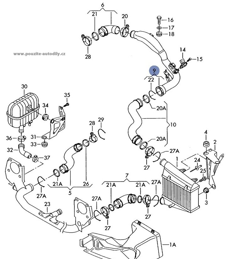 2005 Audi A4 Fuel System Diagram