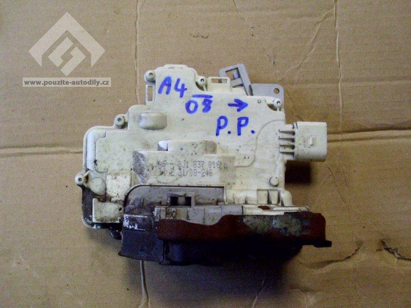 A4 B8 Blbne Zámek Dveří U Spolujezdce Audi A4 Technika úpravy